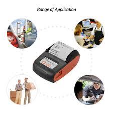 10 Paper Rolls Aibecy <b>GOOJPRT PT</b>-210 Portable Thermal Printer ...