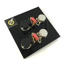 les paul wiring kit pre wired les paul harness coil split ebay Les Paul Wiring Diagram at Les Paul Wiring Harness Coil Tap