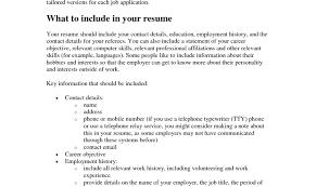 Printable Resume Examples Printable Resume 14 Blank Resume Doc