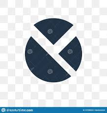 Transparent Pie Chart Pie Chart Vector Icon Isolated On Transparent Background