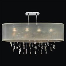oval shade chandelier crystal drop chandelier lifestyles 006