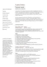 Nursing Curriculum Vitae Template Enchanting Nursing CV Template Nurse Resume Examples Sample Registered