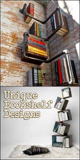 Unique Bookshelves Designs You Would Like To Own Unique Unique Bookshelves