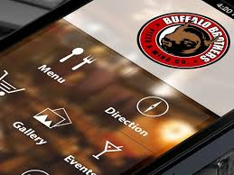 restaurant menu design app restaurant application design application design