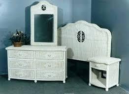 Wicker Bedroom Furniture Set Bedroom White Wicker Bedroom Set White ...