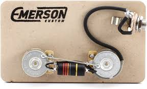 emerson custom prewired kit for gibson les paul junior sweetwater emerson custom prewired kit for gibson les paul junior image 1