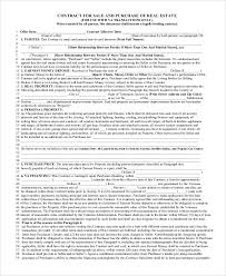 10+ Real Estate Sales Contract Samples   Sample Templates