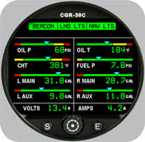 faa approved aircraft engine instruments electronics international Cgr 30p Wiring Diagram cgr 30c cluster gauge CGR 30P Ei