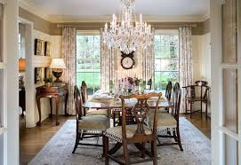hollywood glam luxurious pleasing crystal chandelier dining room