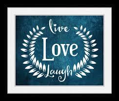 live love laugh wall art home decor