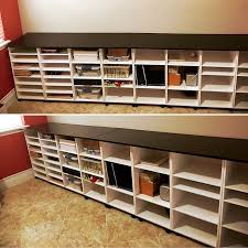 craft room furniture michaels. craft desk using michaels recollections storage units and handmade top room furniture s