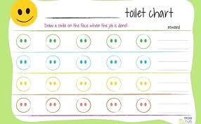 Printable Potty Training Charts For Toddlers Boys Sticker Chart Boy