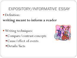 Define Expository Essay Expository Essay Definition