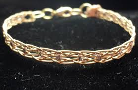 picture of make a bracelet out of used guitar strings