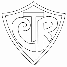 Ctr Shield Coloring Page Printable Pages For Kids Exceptional 3 On