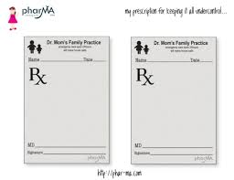 doctor prescription pad blog free printable children s and messages