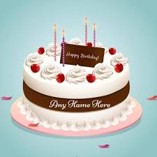 Happy Birthday Cake With Name Edit Images Free Download And Share