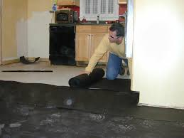 Diy Painted Concrete Floors How To Install A Base For A Concrete Floor How Tos Diy