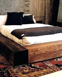 Low Wooden Bed Low Profile Wooden Bed Frame Low Wooden Bed Frame ...