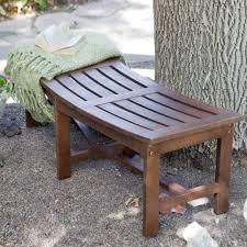 backless garden bench. retail price: $249.99 backless garden bench e