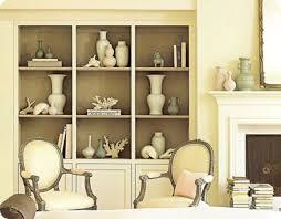 decorative bookshelves | Decorative Bookcase in Creamy How to Arrange Books  in a Decorative .