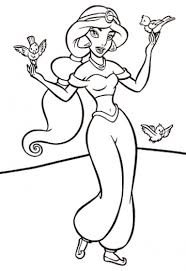 Small Picture Disney Princess Jasmine Coloring Pages To Print Coloring Pages
