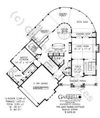 Basement Designs Plans Enchanting Lake Timber Cottage House Plan Daylight Basement Plans