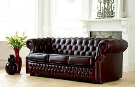 leather sofa bed. Richmond Leather Chesterfield Sofa Bed 0