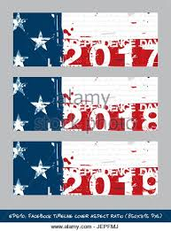vector ilration american flag independence day facebook timeline cover artistic brush strokes and splashes