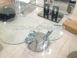 rotating coffee table modern swivel small round glass coffee table swivel glass rotating coffee table