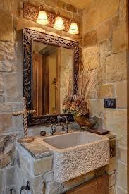 Fine Rustic Stone Bathroom Designs Exquisite Design I On Impressive