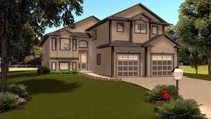 bi level house plans with garage homes interior design