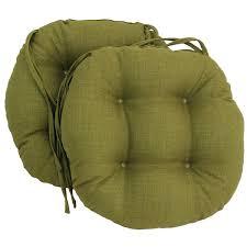 round outdoor chair cushion blazing needles inch round outdoor chair cushions set of 2 target threshold