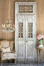 reuse old doors decorative wooden french doors wall decoration