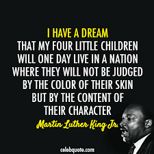 Martin Luther King Jr Quotes Impressive Martin Luther King Jr Quote About Skin Racism Freedom Fair
