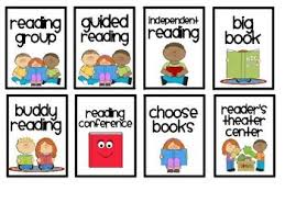Literacy Center Labels For Pocket Chart Center Labels