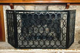 iron fireplace screens wrought iron fireplace screens decorative iron fireplace screens