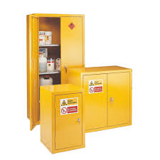 Yellow Flammable Cabinet Flammable Storage Cabinets With 2 Doors And 2 Shelves Csi Products