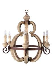 french country wooden chandeliers french country cottage style aged large round wood chandelier light fixture home