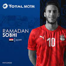 """CAF on Twitter: """"Total Man of the Match ➡ Egypt's Ramadan Sobhi! 🇪🇬🏅  #TotalAFCONU23… """""""
