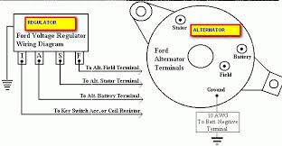alternator voltage regulator wiring diagram alternator external voltage regulator wiring diagram trailer wiring diagram on alternator voltage regulator wiring diagram
