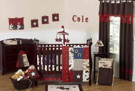 red paisley cowboy western baby crib bedding 9pc boy nursery set brown print western baby bedding