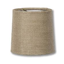 00710h natural burlap chandelier shade mini retro drum hardback