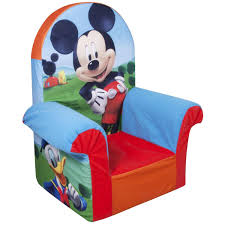 Mickey Mouse Bedroom Furniture Marshmallow High Back Chair Disney Mickey Mouse Club House