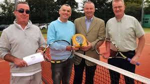 Tennis ace returns after heart attack with life saver