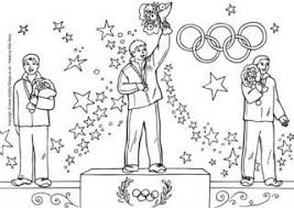 Olympic Colouring Pages For Kids