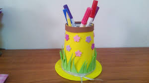 Creative Ideas - How to Make a Hat Pencil Holder for Kids _ Preschool +  Tutorial . - YouTube