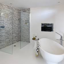 white bathroom ideas. Interesting Ideas After Employing A Local Designer The Homeowners And Their New Team Settled  On White Grey Colour Scheme With Punches Of Acid Green To Match Orla  In White Bathroom Ideas