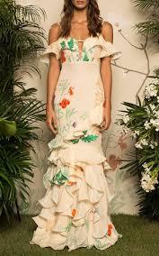 Johanna Oritz Floral La Santa Maria Dress