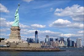 Статуя Свободы Энциклопедия США Статуя Свободы и панорама Манхэттена